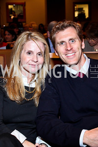 Janine and Tyler Vradenburg. Photo by Tony Powell. Surviving Grace. Phillips Collection. October 10, 2012