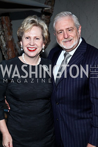Lisa Barry and Jim Gale. Photo by Tony Powell. Surviving Grace. Phillips Collection. October 10, 2012