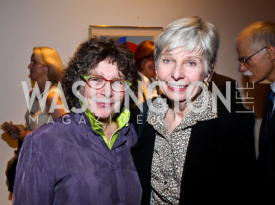 Mimi Conway, Eleanor Clift. Photo by Tony Powell. Surviving Grace. Phillips Collection. October 10, 2012
