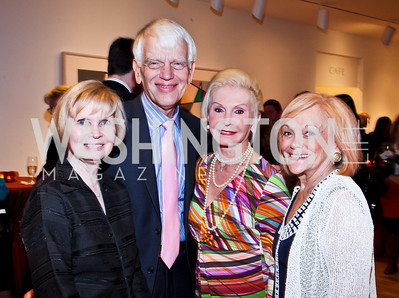 Sally and Alan Merten, Dianne Kay, Francine Levinson. Photo by Tony Powell. Surviving Grace. Phillips Collection. October 10, 2012