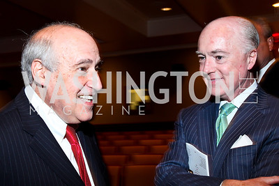 Dan Glickman, David Bradley. Photo by Tony Powell. Surviving Grace. Phillips Collection. October 10, 2012