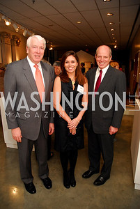 Mike  Herrald,Leslie Jones,John Gerber, ,January 5,2012,Opening  Night of Washington Winter Show,Kyle Samperton
