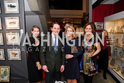 Elizabeth Powell,Josh Bourne,Blair Bourne,Puffin Travers,January 5,2012,Opening  Night of Washington Winter Show,Kyle Samperton