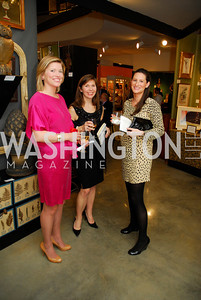Aimee Burck,Marilouise Avery,Allison Thompson, January 5,2012,Opening  Night of Washington Winter Show,Kyle Samperton