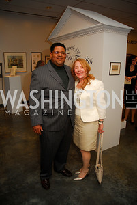 Edmund Fleet,Janet Laird,January 5,2012,Opening  Night of Washington Winter Show,Kyle Samperton