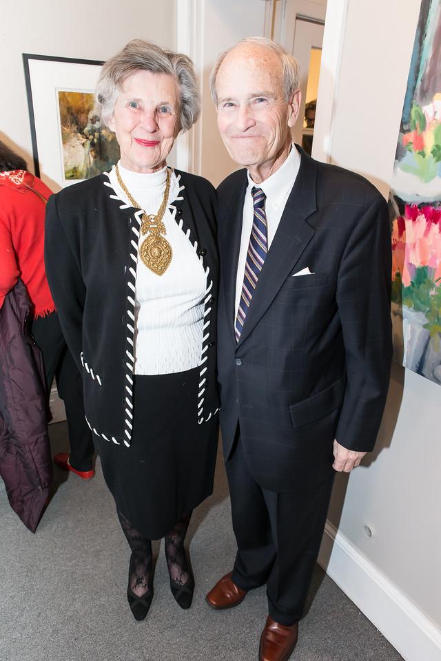 Paddy Katzen, Jay Katzen. Photo by Alfredo Flores. Opening Reception for Edward Bear Miller Exhibit. Foundry Gala. January 4, 2013.