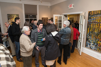 Photo by Alfredo Flores. Opening Reception for Edward Bear Miller Exhibit. Foundry Gala. January 4, 2013.