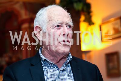 James Salter. Photo by Tony Powell. PEN/Faulkner Evening Honoring James Salter. Residence of C. Boyden Gray. December 6, 2012