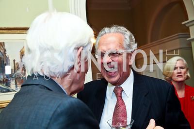 John Jeppson. Photo by Tony Powell. PEN/Faulkner Evening Honoring James Salter. Residence of C. Boyden Gray. December 6, 2012