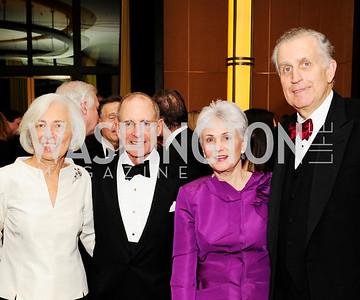 Barbara Rossotti,Charles Rossotti, Chandler Tagliabue,Paul Tagliabue,December 17,2012, Choral Arts Gala,Kyle Samperton
