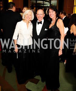 Barbara Rossotti,Charles Rossotti, Debra Kraft,December 17,2012, Choral Arts Gala,Kyle Samperton