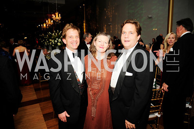 Charles Mathias,Amanda Downes,Robert Mathias,December 17,2012, Choral Arts Gala,Kyle Samperton