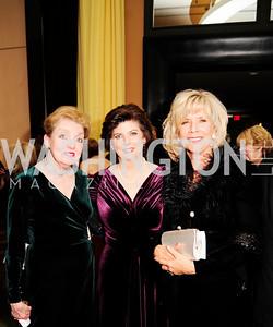 Fran Redmon,Karen Schuiling,Linda Spanier,December 17,2012, Choral Arts Gala,Kyle Samperton