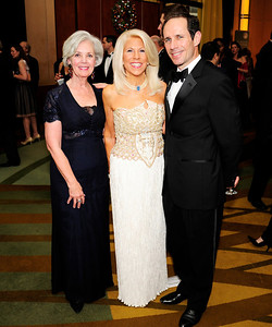 Betsy Holleman,Kandie Stroud,Paul Almeda,December 17,2012, Choral Arts Gala,Kyle Samperton