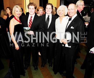 Cathy Jones,Alexander Schroeder,Maxwell Schroeder,Barbara Rossotti,Charles Rossotti,December 17,2012, Choral Arts Gala,Kyle Samperton