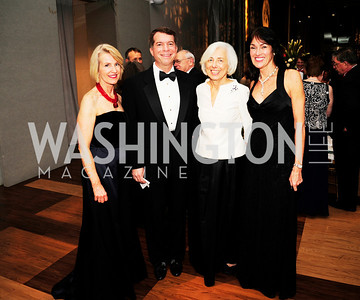 Cathy Jones,George Wilson,Barbara Rossotti,Debra Kraft,December 17,2012, Choral Arts Gala,Kyle Samperton