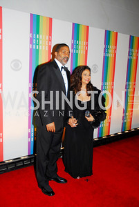 Norman Nixon,Debbie Allen,December 2,2012,Kennedy Center Honors 2012,Kyle Samperton