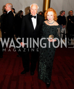 Frank Chucker,Buffy Cafritz,December 2,2012,Kennedy Center Honors 2012,Kyle Samperton