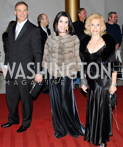 Adam Bernstein,Tracy Bernstein,Wilma Bernstein,December 2,2012,Kennedy Center Honors 2012,Kyle Samperton