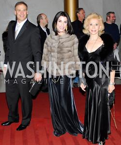 Adam Bernstein,Tracy Bernstein,Wilma Bernstein,December 2,2012,Kennedy Center Honors 2012,Kyle Samperton