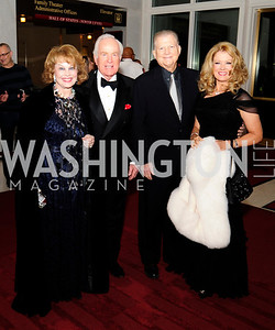 Ann Hand,Lloyd Hand, Burt Sugarman,Mary Hart,December 2,2012,Kennedy Center Honors 2012,Kyle Samperton