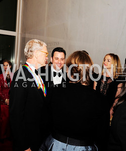 David Letterman,Jimmy Kimmel,Molly McNearey,December 2,2012,Kennedy Center Honors 2012,Kyle Samperton
