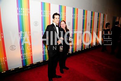 Damien Woetzel,Heather Watts,December 2,2012,Kennedy Center Honors 2012,Kyle Samperton