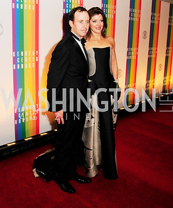 Geoff Tracy,Norah O'Donnell,December 2,2012,Kennedy Center Honors 2012,Kyle Samperton
