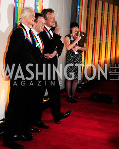 Jimmy Page,John Paul Jones,Robert Plant,December 2,2012,Kennedy Center Honors 2012,Kyle Samperton