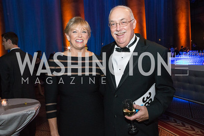 Marlene Davis, Steve Smith. Passion for Caring Gala. Photo by Alfredo Flores. National Building Museum
