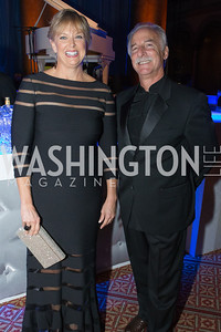 Marlene Davis, Perry Fine. Passion for Caring Gala. Photo by Alfredo Flores. National Building Museum