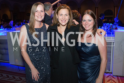 Erin Coppinger, Andrea Garvey, Crystal Coppinger. Passion for Caring Gala. Photo by Alfredo Flores. National Building Museum. October 27, 2012