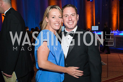Chris Nave, Suzie Nave. Passion for Caring Gala. Photo by Alfredo Flores. National Building Museum. October 27, 2012