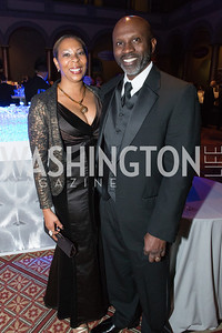 Cheryl Wearing, Hosea Wearing. Passion for Caring Gala. Photo by Alfredo Flores. National Building Museum