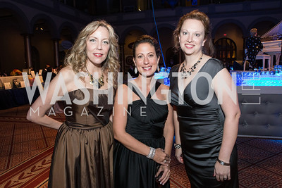 Meg Miller, Kristin Rounds, Nicole Redden. Passion for Caring Gala. Photo by Alfredo Flores. National Building Museum-3.CR2