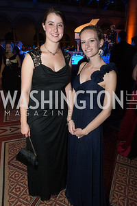 Michelle Hargrove, Lacey Dewaard. Passion for Caring Gala. Photo by Alfredo Flores. National Building Museum. October 27, 2012
