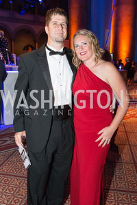 Dwight Engen, Heather Engen. Passion for Caring Gala. Photo by Alfredo Flores. National Building Museum. October 27, 2012