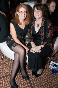 Anne Rieger, Lori Cooper. Passion for Caring Gala. Photo by Alfredo Flores. National Building Museum. October 27, 2012