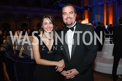 Becky Webster, Fred Wuenson. Passion for Caring Gala. Photo by Alfredo Flores. National Building Museum. October 27, 2012