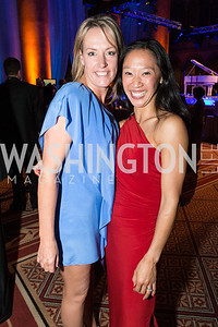 Suzie Nave, Kim Evans. Passion for Caring Gala. Photo by Alfredo Flores. National Building Museum. October 27, 2012