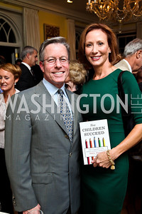 """Bryan and Anne Jacoboski. Photo by Tony Powell. Paul Tough """"How Children Succeed"""" Book Party. Bradley residence. October 9, 2012"""