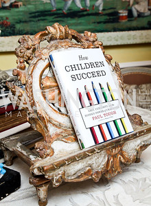 "Photo by Tony Powell. Paul Tough ""How Children Succeed"" Book Party. Bradley residence. October 9, 2012"