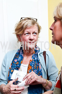 """Julie Rogers. Photo by Tony Powell. Paul Tough """"How Children Succeed"""" Book Party. Bradley residence. October 9, 2012"""