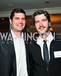 Brendan and Sean Tuohey. Photo by Tony Powell. PeacePlayers International Reception. Lockhart Residence. November 27, 2012