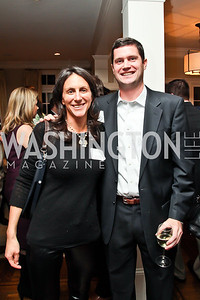 Nicole Elkon, Brendon Tuohey. Photo by Tony Powell. PeacePlayers International Reception. Lockhart Residence. November 27, 2012