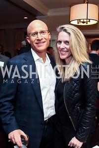 Larry Williams, Jennifer Vinson. Photo by Tony Powell. PeacePlayers International Reception. Lockhart Residence. November 27, 2012