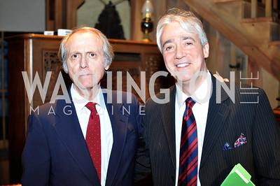 Don DeLillo, Scott Simon.  The Pen/Faulkner Awards at the Folger Shakespeare Library.  Photo by Ben Droz.
