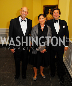 Ted Alfond,Barbara Alfond,Ted Kaufman,October 3,2012Preview Reception for Masterpieces of American Furniture from the Kaufman Collection National Gallery of Art,Kyle Samperton
