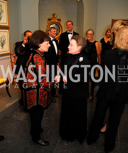 Arlene Kogod,Linda Kaufman,October 3,2012Preview Reception for Masterpieces of American Furniture from the Kaufman Collection National Gallery of Art,Kyle Samperton