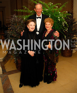 Linda Kaufman, Tommy Johnson,Wendy Copper,October 3,2012Preview Reception for Masterpieces of American Furniture from the Kaufman Collection National Gallery of Art,Kyle Samperton